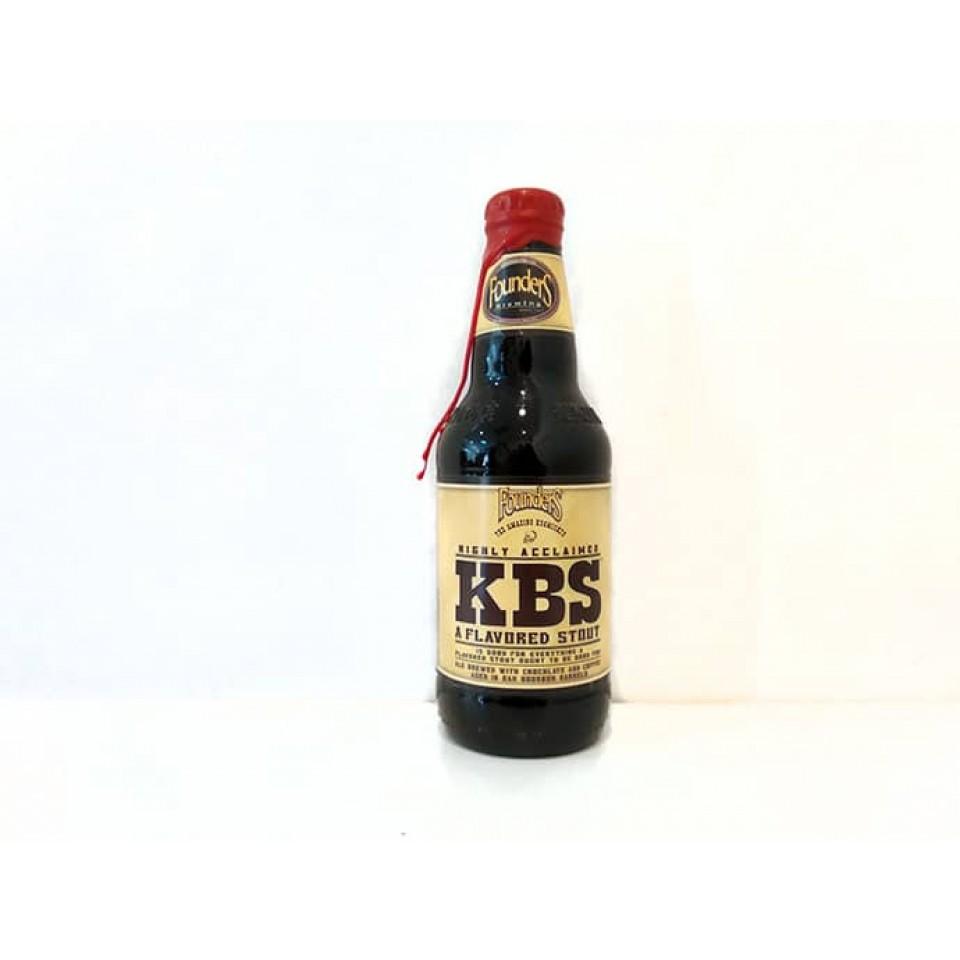 Botella de cerveza Founders KBS 2016