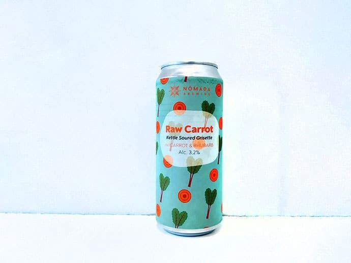 Cerveza Nomada Brewing Raw Carrot