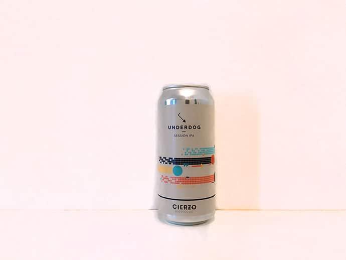 Lata de cerveza Cierzo Underdog