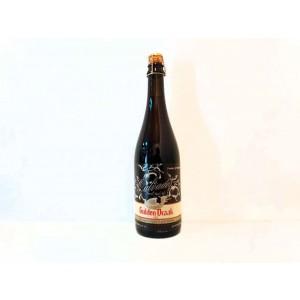 Botella de cerveza Gulden Draak Calvados Barrel Aged