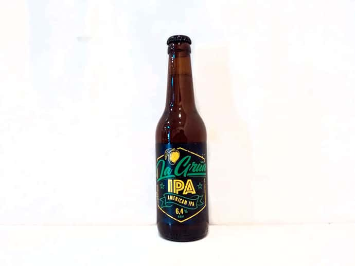Cerveza La Grúa IPA