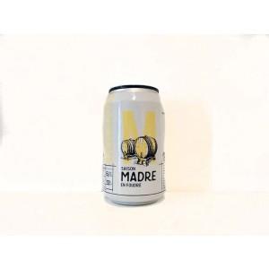 Cerveza Lata de cerveza La Virgen Saison Madre