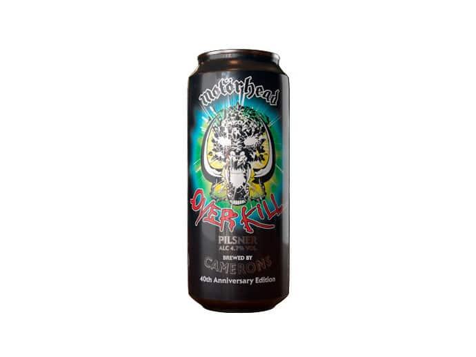 Cerveza Motorhead Overkill