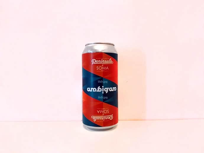 Cerveza Peninsula - SOMA Ambigram