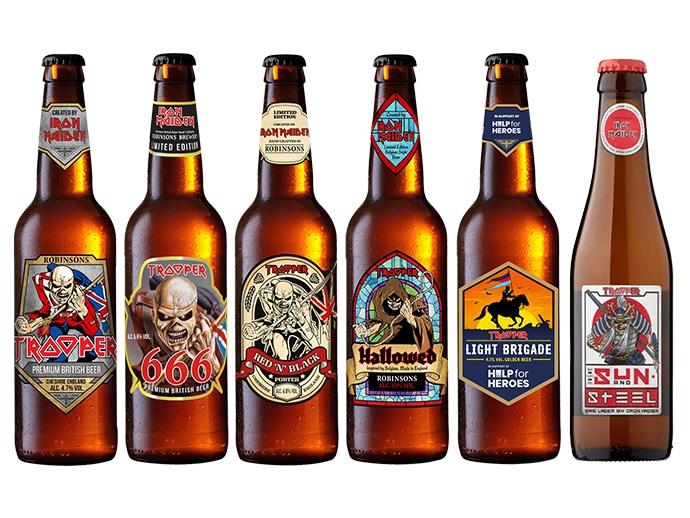Cervezas trooper the collection botellas