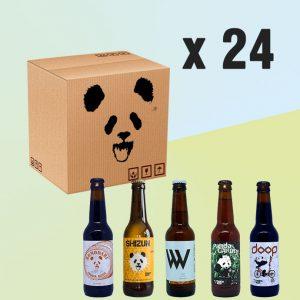 Pack de 24 uds de Panda Beer