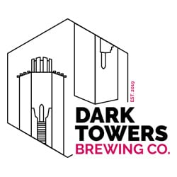 Logotipo Dark Towers Brewing Co
