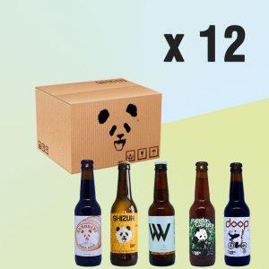 Pack de 12 uds de Panda Beer