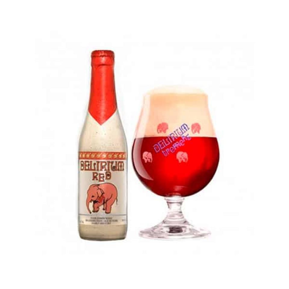Cerveza Delirium Red