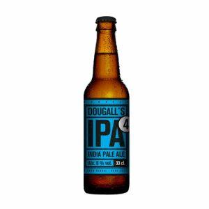 Botella de cerveza DouGalls IPA 4