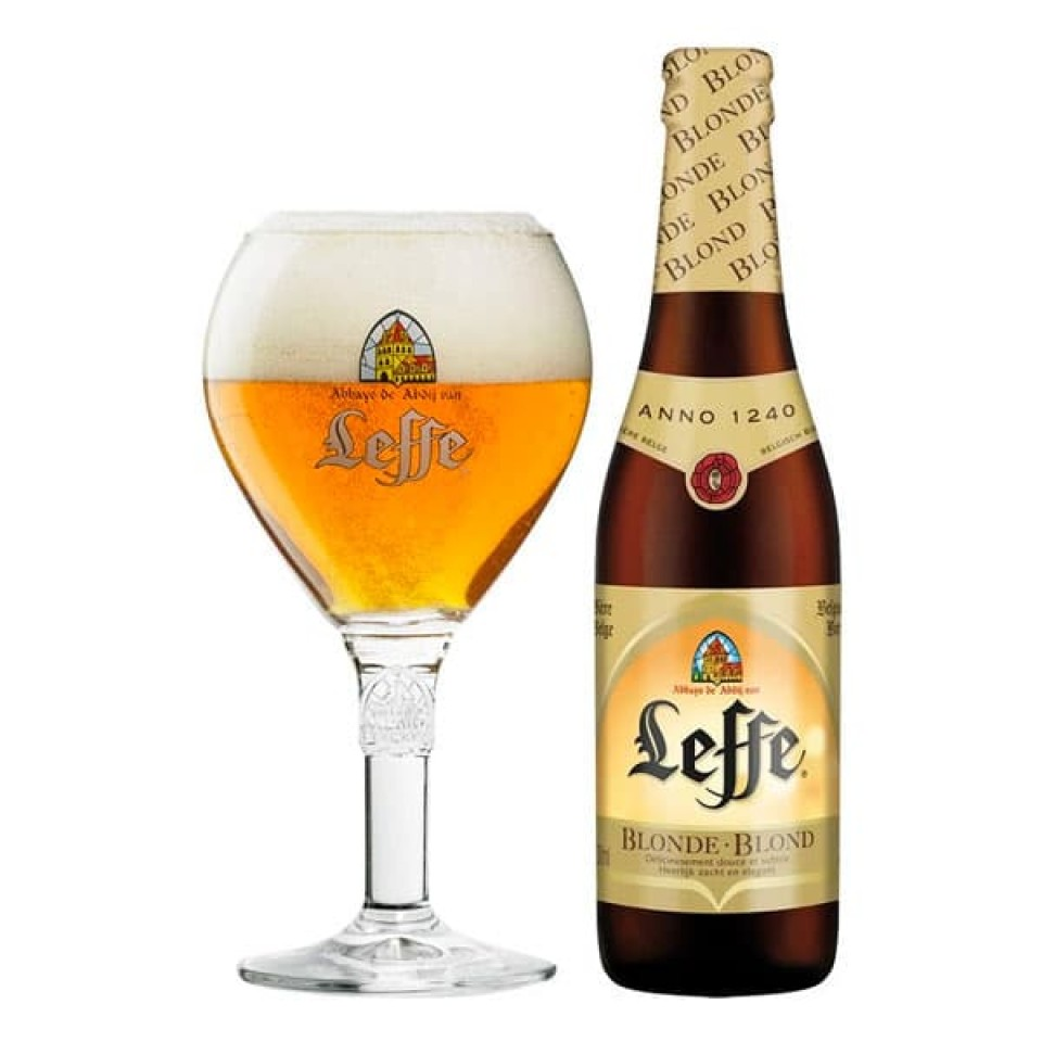 Cerveza Leffe Blonde