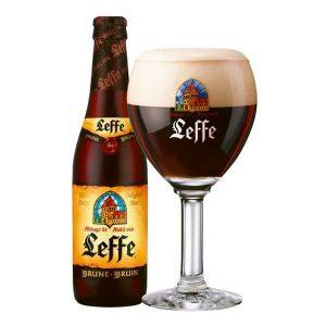 Cerveza Leffe Brune