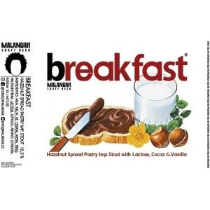 Cerveza Malandar Breakfast