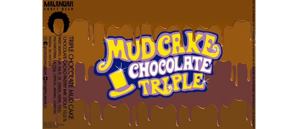 Cerveza Malandar Triple Chocolate Mud Cake