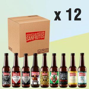 Pack de cerveza Sanfrutos 12