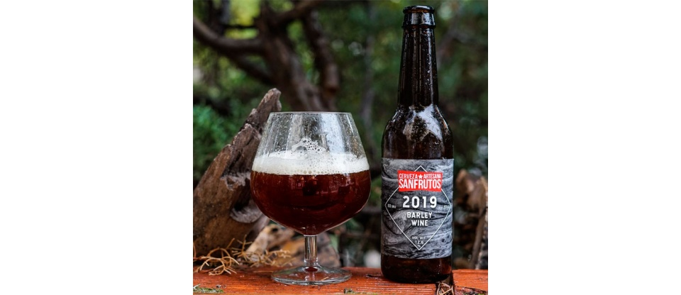 Cerveza SanFrutos Barley Wine 2019