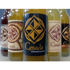 Botellas 33 cl. Hidromiel Crisada Barrica