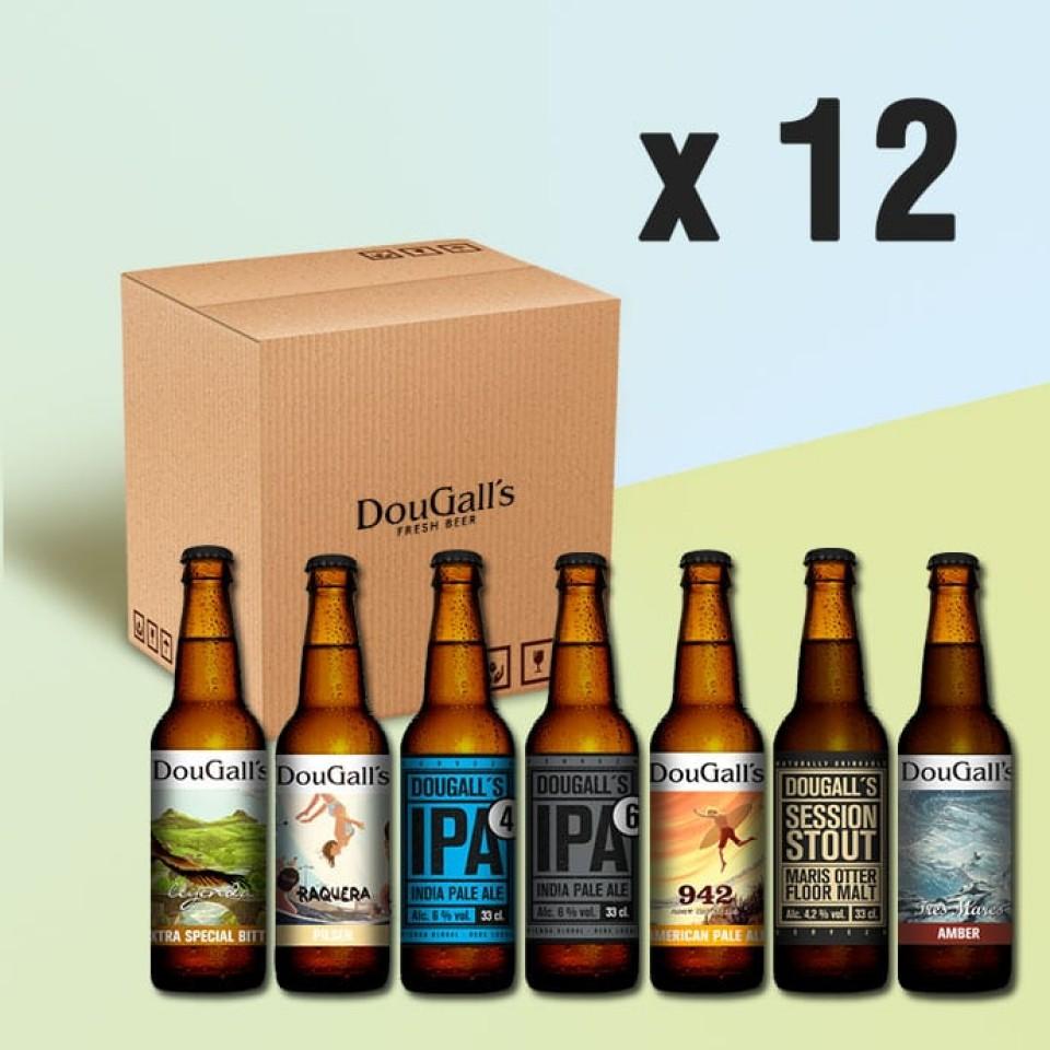 Pack al gusto de cervezas DouGall's