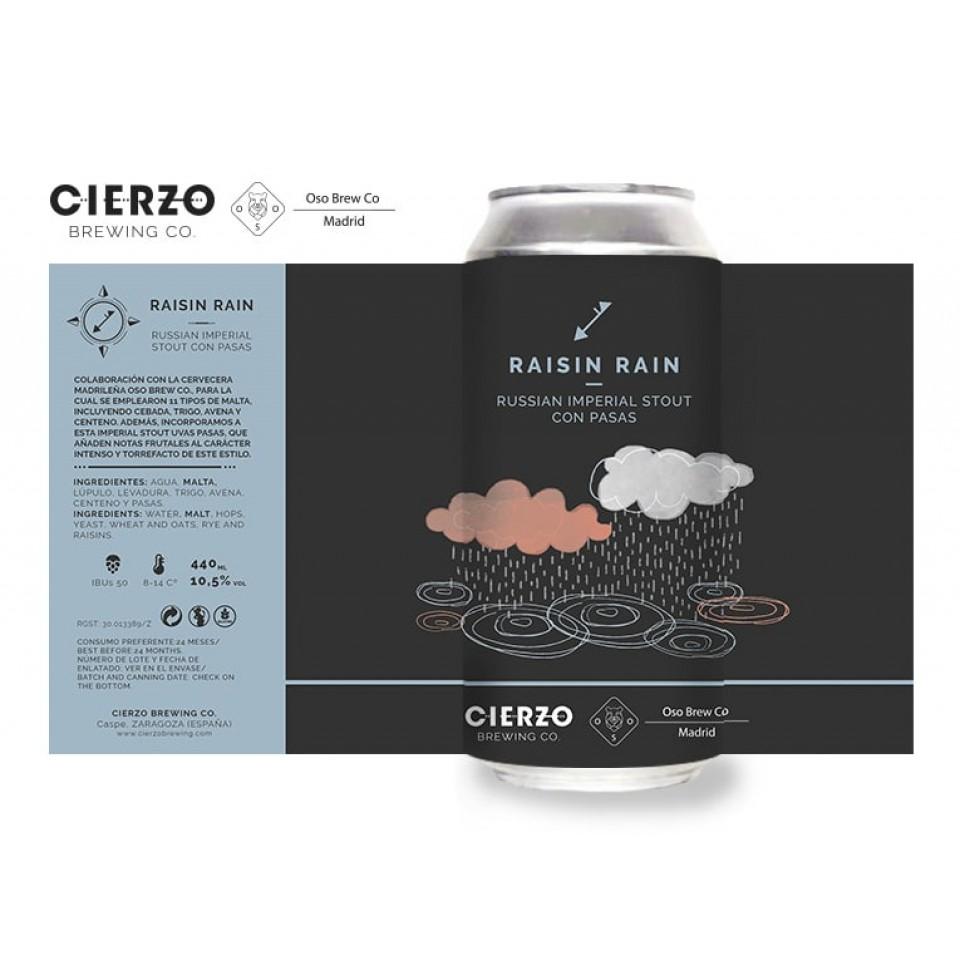 Cerveza Cierzo Raisin Rain