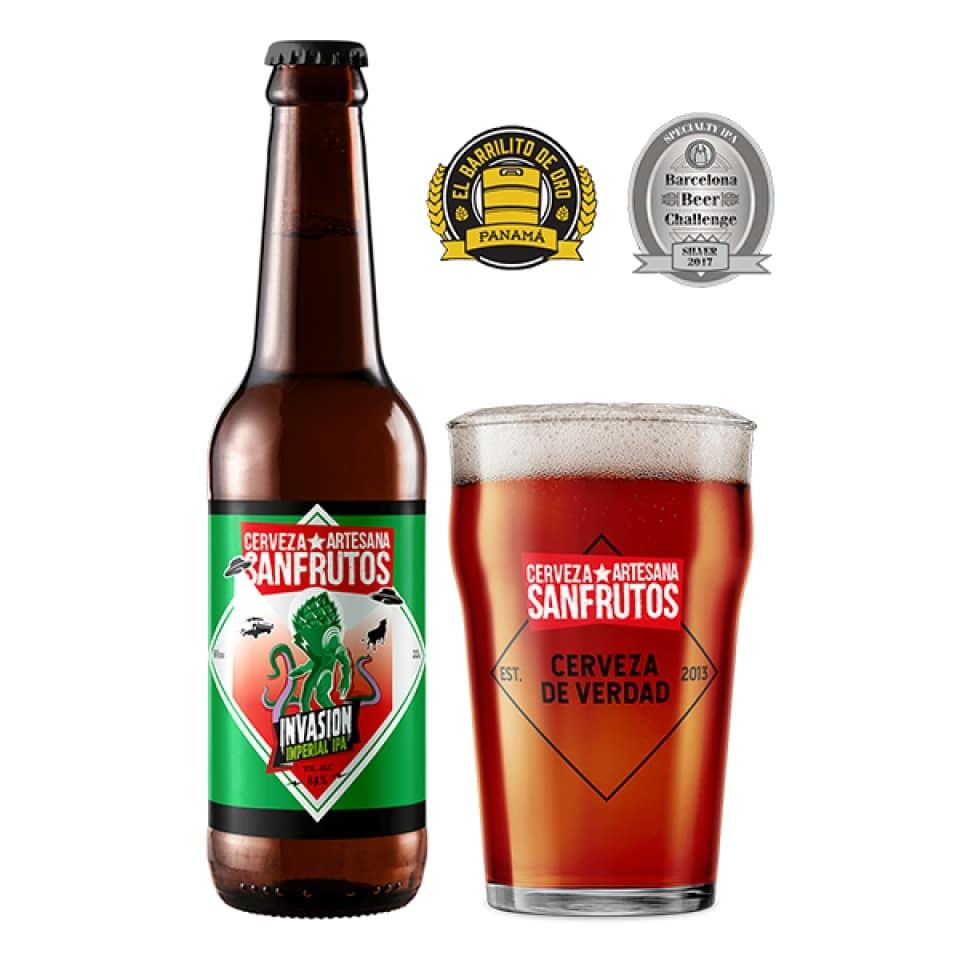 Cerveza Sanfrutos Invasion