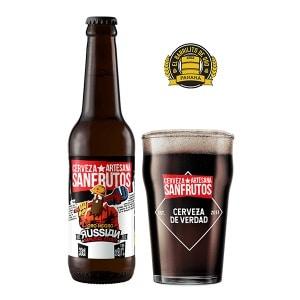 Cerveza Sanfrutos Oro Negro
