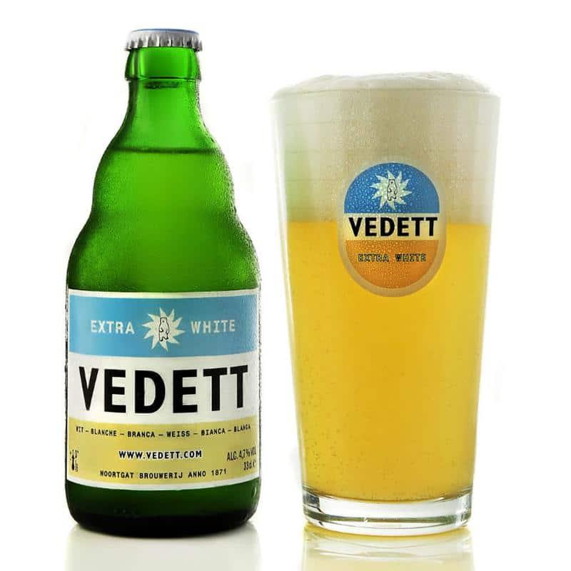 Cerveza Vedett Extra White
