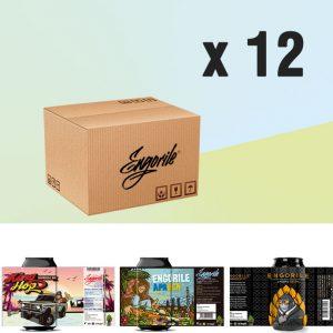 Pack 12 unidades Engorile