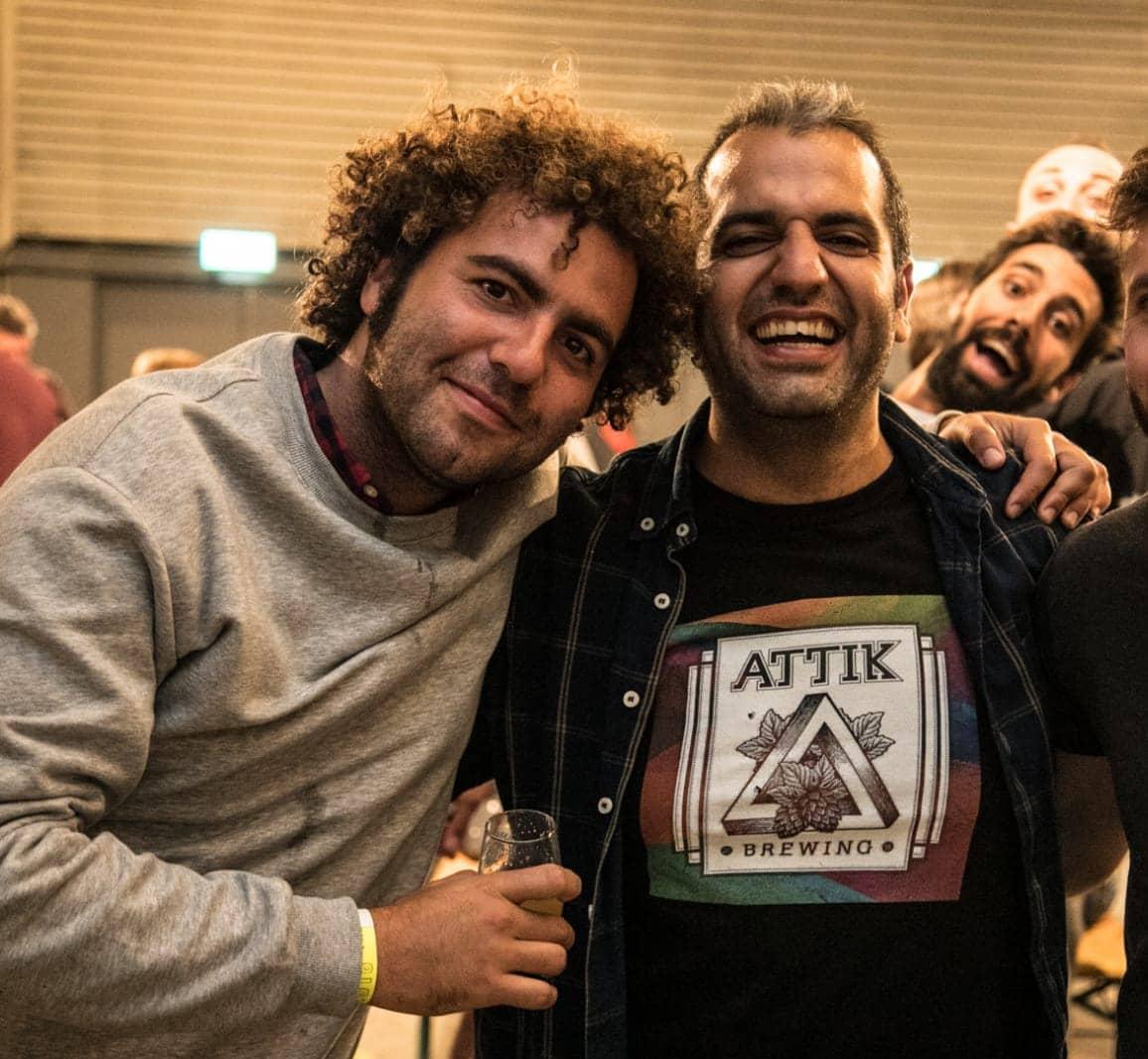 Equipo de Attik Brewing