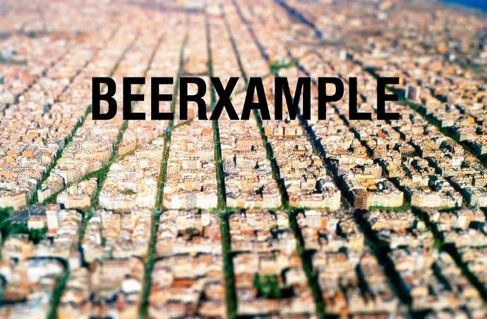 barrio de las cervezas barcelonesas en Cataluña