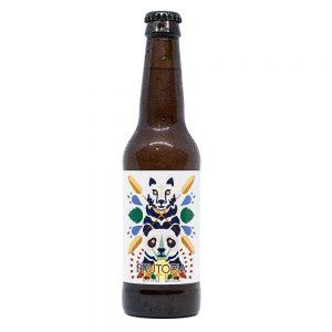 Botella de la cerveza Fruitopía - Berliner Weisse con maracuyá de Panda Beer y CCVK