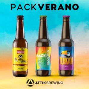 Pack de cervezas Attik Brewing Verano