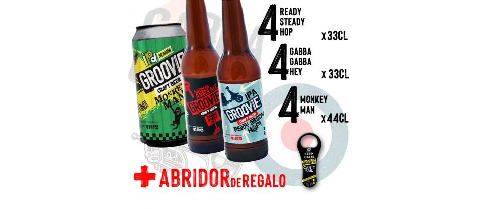 Pack Seleccion de Cerveza Groovie