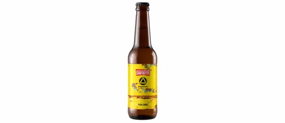 Cerveza Sanfrutos - Attik Yuzu Lager