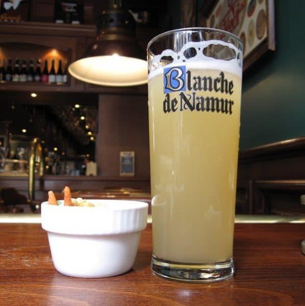 cerveza estilo belga Blanche de Namur