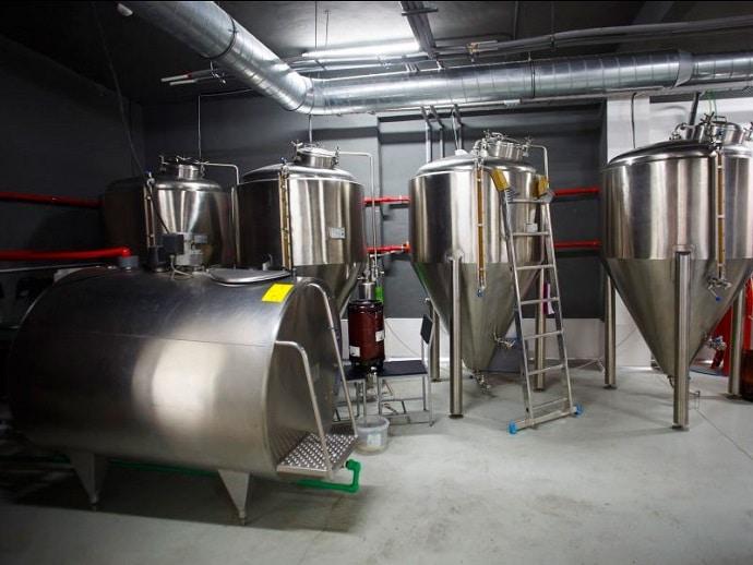 sistema profesional para realizar cerveza artesana