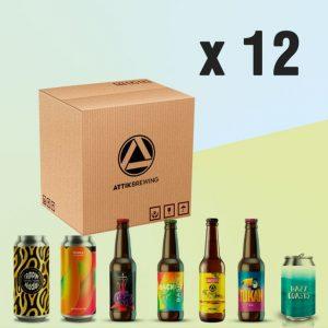 Pack de cervezas al Gusto Attik Brewing - 12 uds