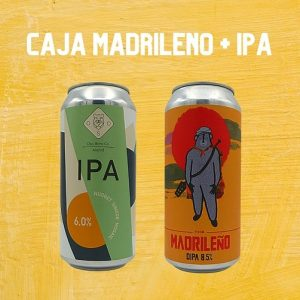 Pack de Cervezas Oso Brew Co. IPA + The Madrileño
