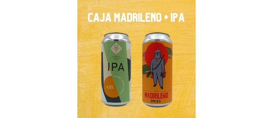 Pack de Cervezas Oso Brew Co. IPA + The Madrileño