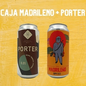 Oso Brew Co Pack The Madrileño + Porter