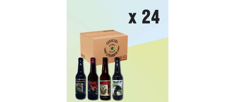 Pack de descubrimiento de Cervezas Speranto