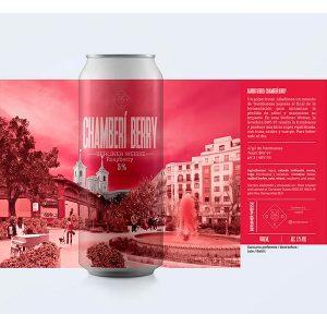 Cerveza Oso Brew Chamberí Berry