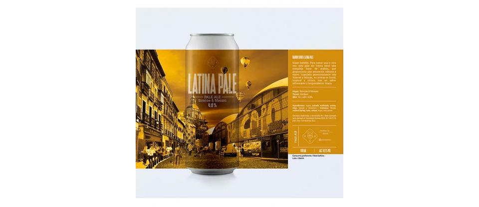 Cerveza Oso Brew Co Latina Pale