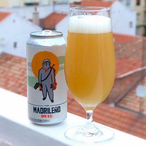 Cerveza Oso Brew The Madrileño V2