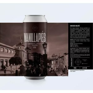 Cerveza Oso Brew Co Vanillapiés