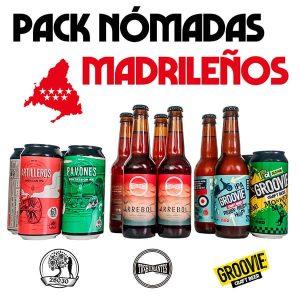 Pack de Cervezas Artesanas Nómadas Madrileñas