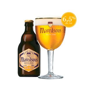 Cerveza Maredsous Blonde