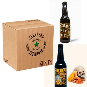 Pack de cervezas invernales de Speranto