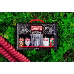 Pack Regalo de Cervezas SanFrutos