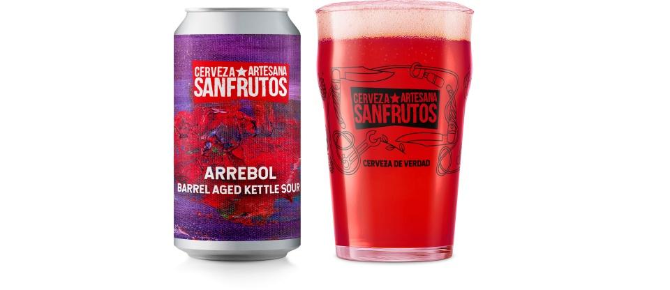 Cerveza SanFrutos ARREBOL