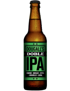 Botella de Cerveza Dougall's Doble IPA 33 cl.
